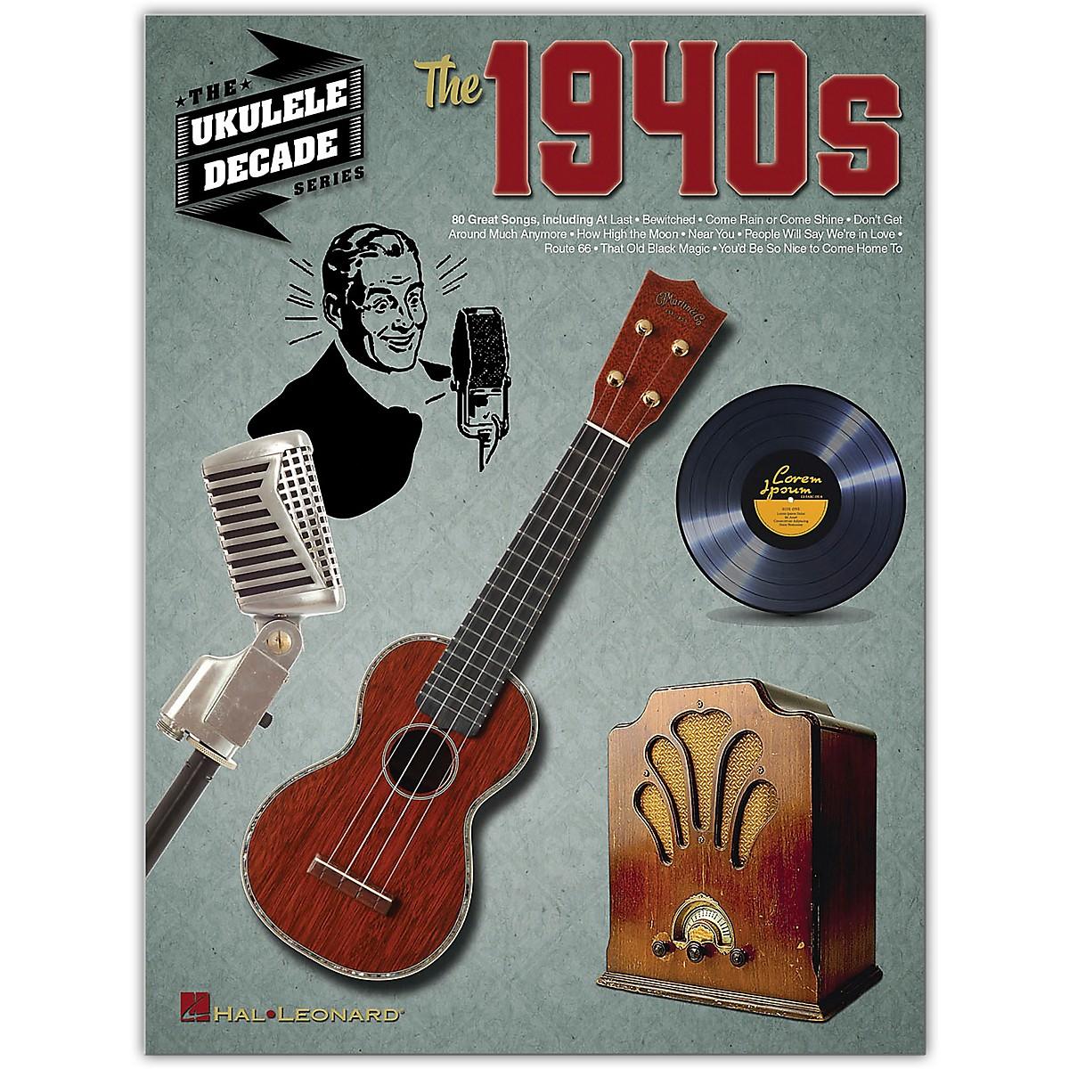 Hal Leonard The 1940s (The Ukulele Decade Series) Ukulele Songbook