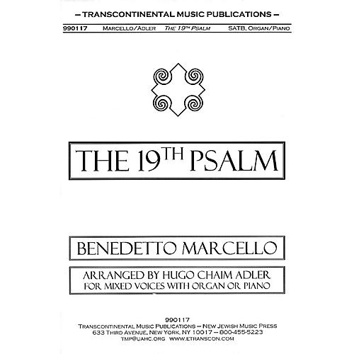 Transcontinental Music The 19th Psalm SATB arranged by Hugo Adler