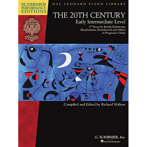 G. Schirmer The 20th Century - Early Intermediate Level Schirmer Performance Editions Softcover