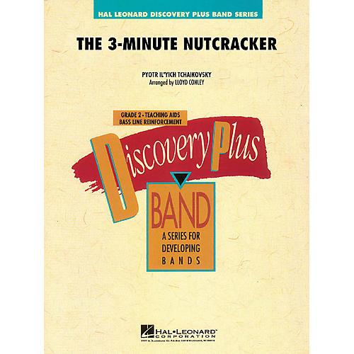 Hal Leonard The 3-Minute Nutcracker - Discovery Plus Band Level 2 arranged by Lloyd Conley