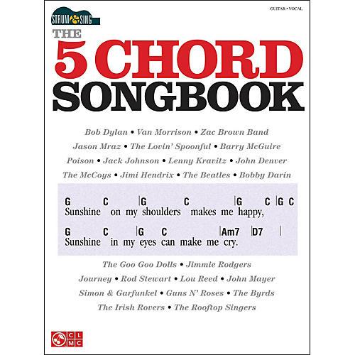 Cherry Lane The 5 Chord Songbook - Strum & Sing Series