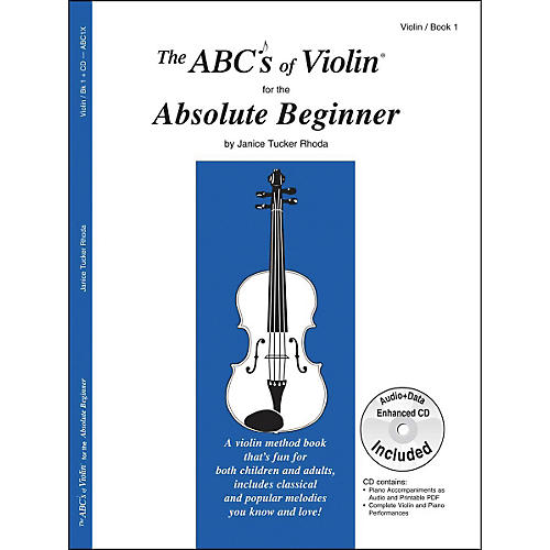 Carl Fischer The Abc'S Of Violin For The Absolute Beginner Book/CD