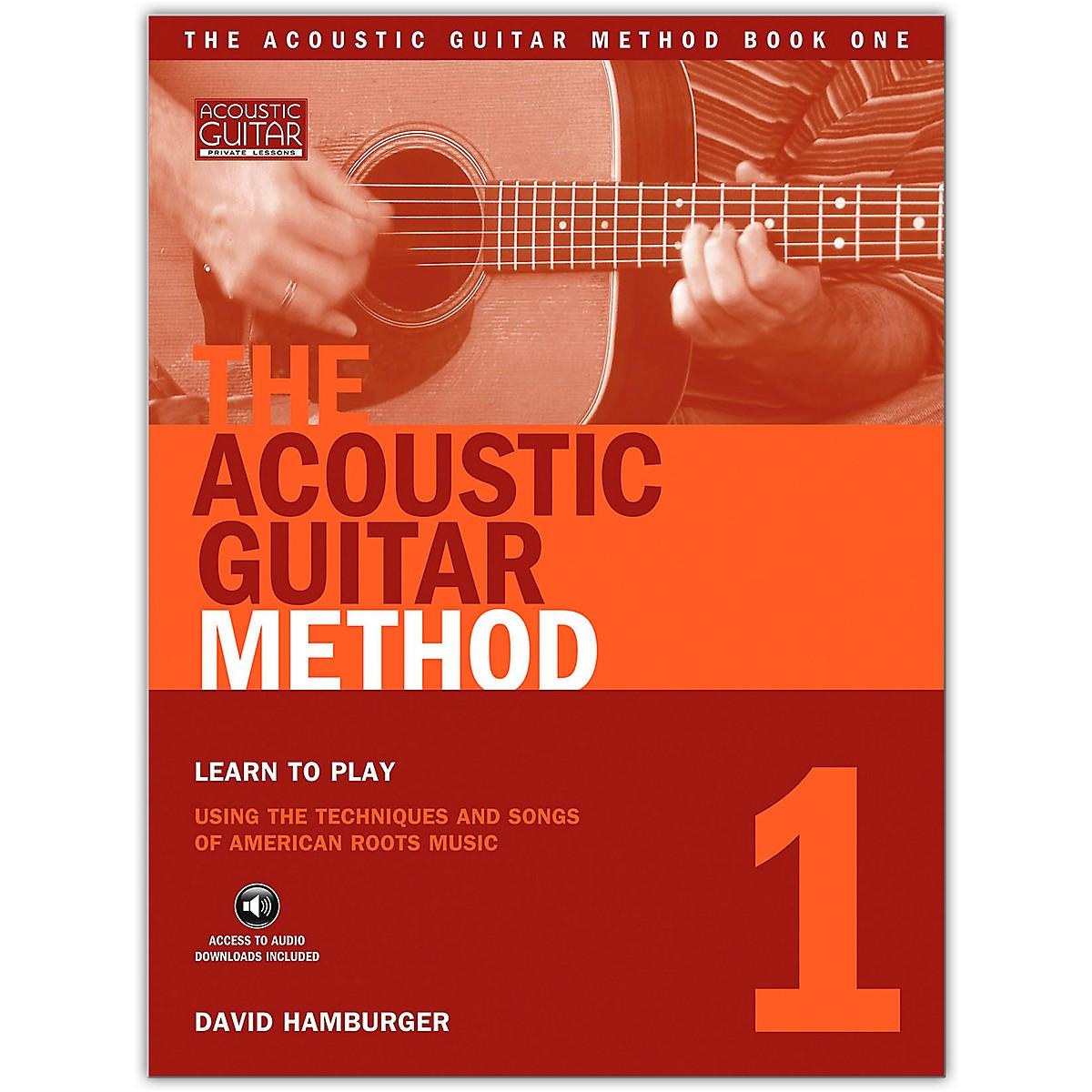 String Letter Publishing The Acoustic Guitar Method 1 (Book/Online Audio)