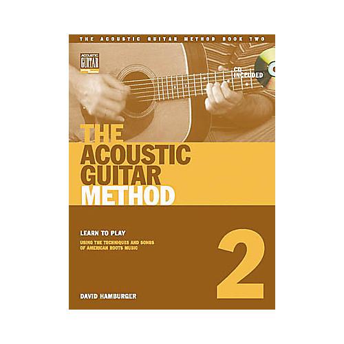 String Letter Publishing The Acoustic Guitar Method 2 (Book/CD)