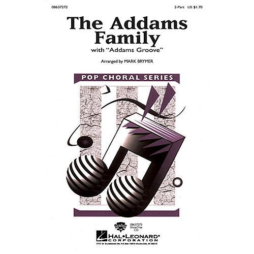 Hal Leonard The Addams Family 2-Part arranged by Mark Brymer
