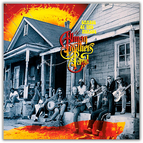 RED The Allman Brothers Band - Shades of Two Worlds