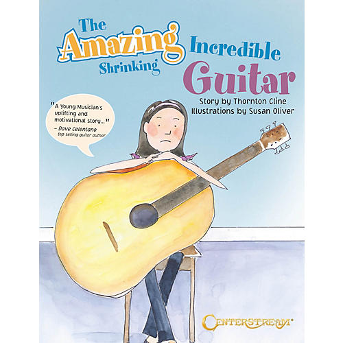 Centerstream Publishing The Amazing Incredible Shrinking Guitar Guitar Series Softcover Written by Thornton Cline