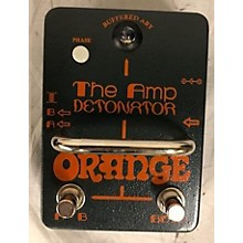 Orange Amplifiers The Amp Detonator Pedal