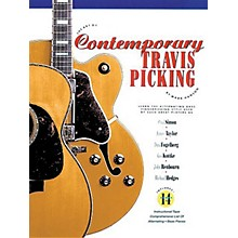 Music Sales The Art of Contemporary Travis Picking Music Sales America Series Softcover with CD by Mark Hanson