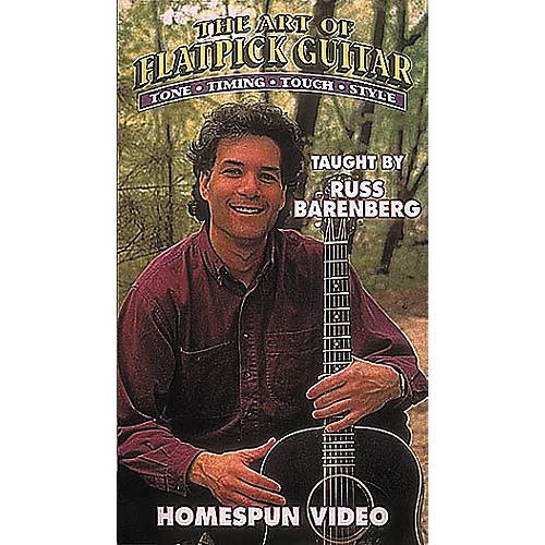 Homespun The Art of Flatpick Guitar (VHS)