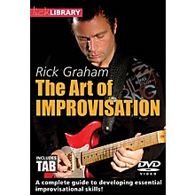 Licklibrary The Art of Improvisation Lick Library Series DVD Written by Rick Graham