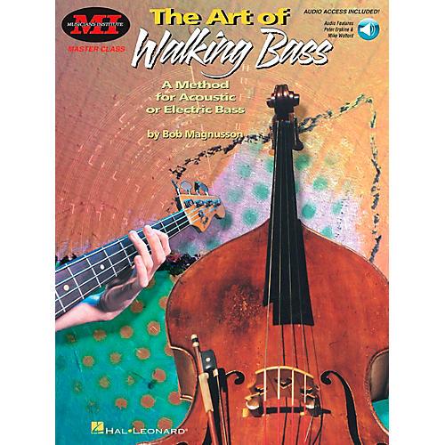 Hal Leonard The Art of Walking Bass Book/Online Audio