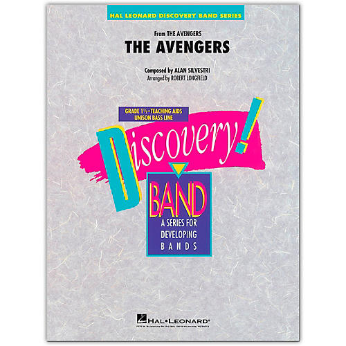 Hal Leonard The Avengers Concert Band Level 1.5 Arranged by Robert Longfield