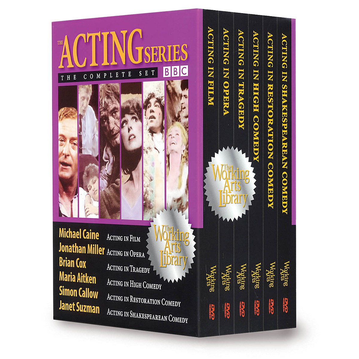 The Working Arts Library/Applause The BBC Acting Series: The Complete Set (Six DVDs) Applause Books Series DVD Written by Various Authors