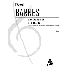 Lauren Keiser Music Publishing The Ballad of Bill Doolin (Woodwind Ensemble) LKM Music Series by Edward Barnes