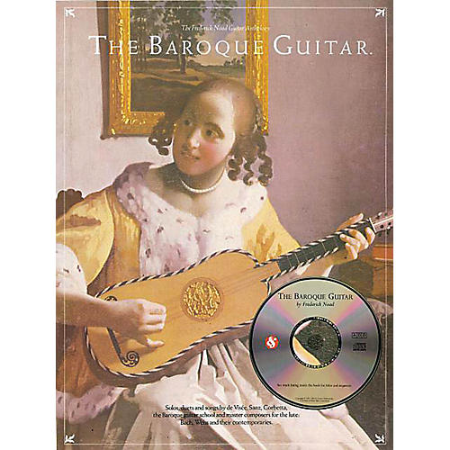 Music Sales The Baroque Guitar Music Sales America Series Softcover with CD