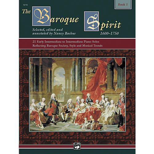Alfred The Baroque Spirit Book 1 Book 1 & CD
