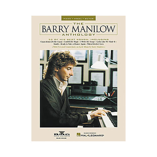 Hal Leonard The Barry Manilow Anthology Piano/Vocal/Guitar Artist Songbook