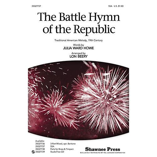 Shawnee Press The Battle Hymn of the Republic SSA arranged by Lon Beery