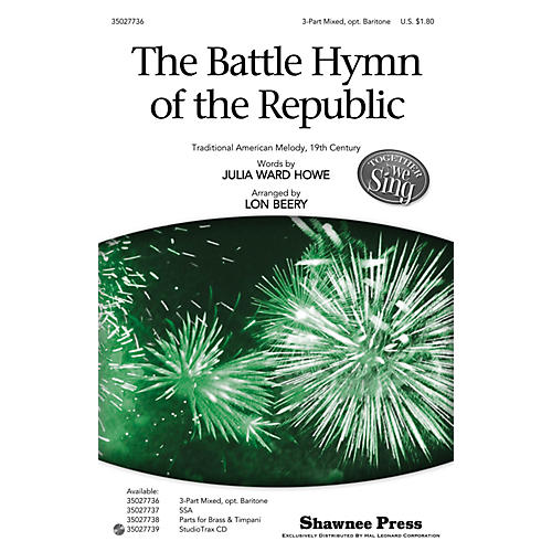 Shawnee Press The Battle Hymn of the Republic (Together We Sing Series) Studiotrax CD Arranged by Lon Beery