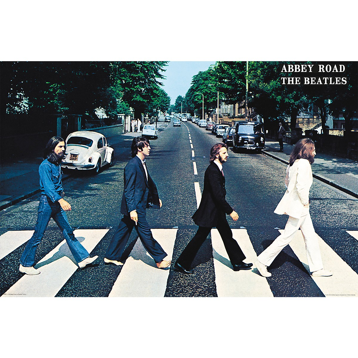 Trends International The Beatles - Abbey Road Poster