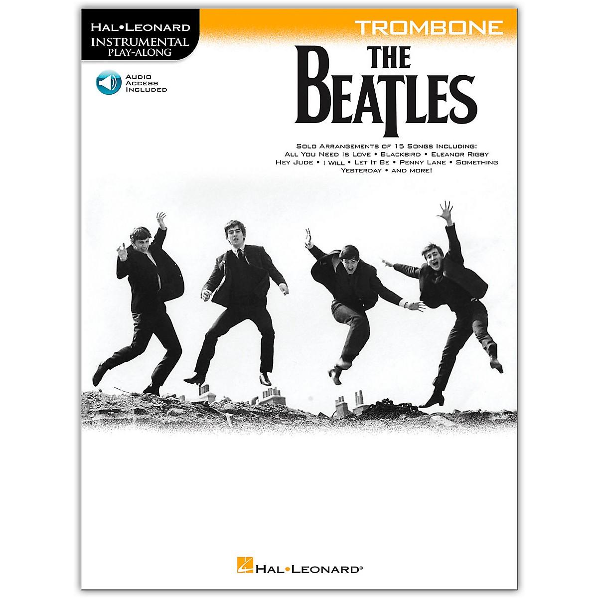 Hal Leonard The Beatles - Instrumental Play-Along Series Trombone Book/Audio Online