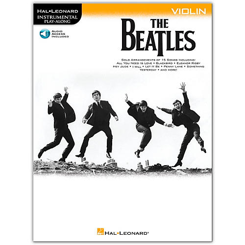 Hal Leonard The Beatles - Instrumental Play-Along Series Violin Book/Audio Online
