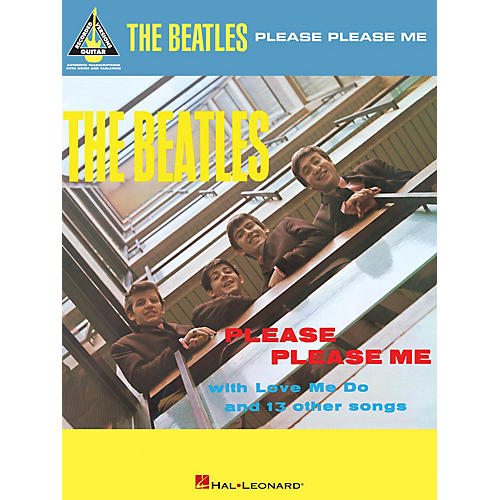 Hal Leonard The Beatles - Please Please Me Guitar Recorded Version Series Softcover Performed by The Beatles