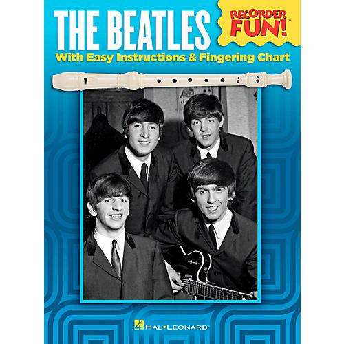 Hal Leonard The Beatles - Recorder Fun! Songbook