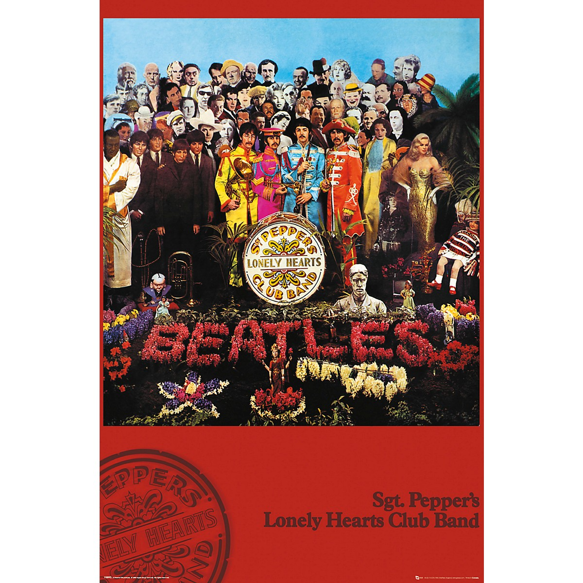 Trends International The Beatles - SGT. Pepper's Poster