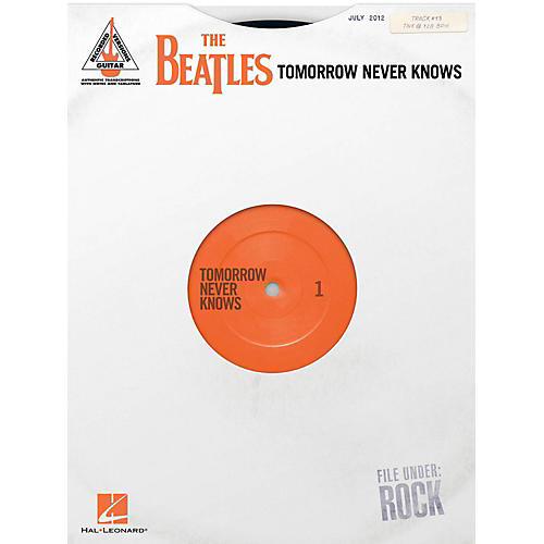 Hal Leonard The Beatles - Tomorrow Never Knows Guitar Tab Songbook