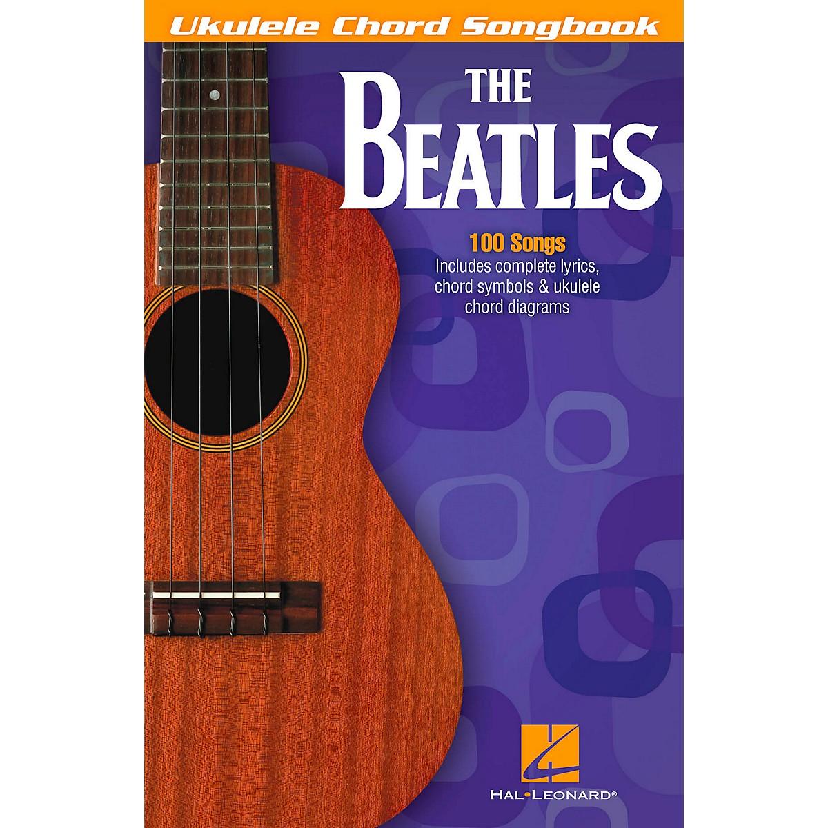 Hal Leonard The Beatles - Ukulele Chord Songbook