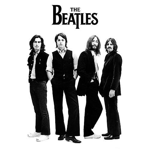 Hal Leonard The Beatles - White Album Group Shot - Wall Poster