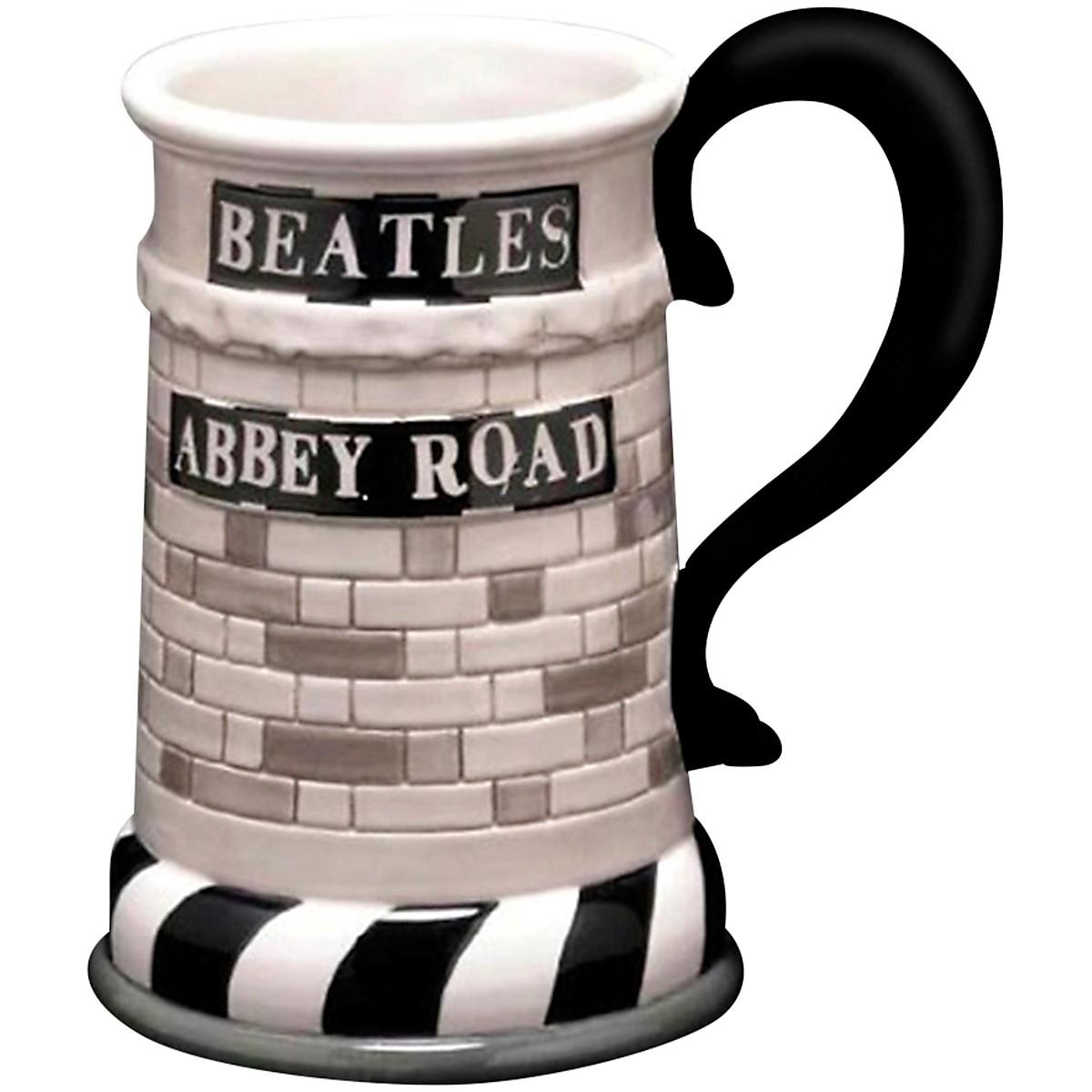 Vandor The Beatles Abbey Road 20 oz. Sculpted Ceramic Mug