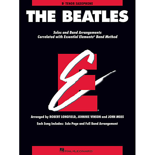 Hal Leonard The Beatles Essential Elements Band Folios Series Book by The Beatles Arranged by Johnnie Vinson