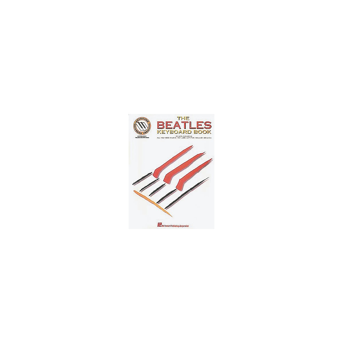 Hal Leonard The Beatles Keyboard Songbook