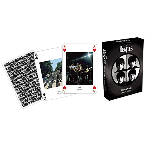 Hal Leonard The Beatles Playing Cards