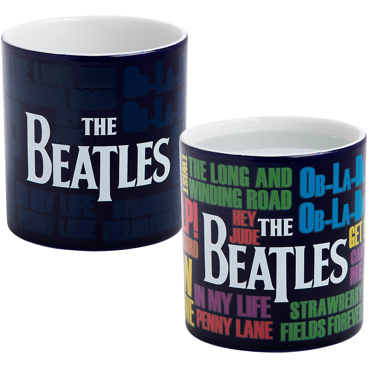 Vandor The Beatles Reactive 20 oz. Ceramic Mug