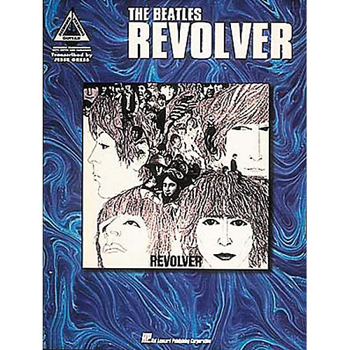 Hal Leonard The Beatles Revolver Guitar Tab Book