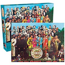 Hal Leonard The Beatles  Sgt. Pepper 1000-Piece Jigsaw Puzzle