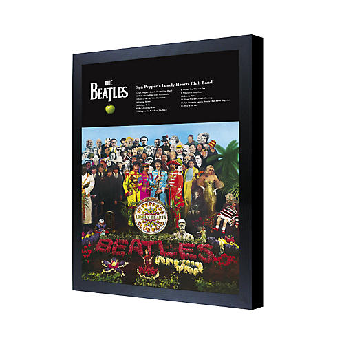 Ace Framing The Beatles Sgt. Pepper's Lonely Hearts Club Band 3D Framed Poster