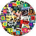 Vandor The Beatles Singles Collection 13.75 Cordless Wood Wall Clock thumbnail