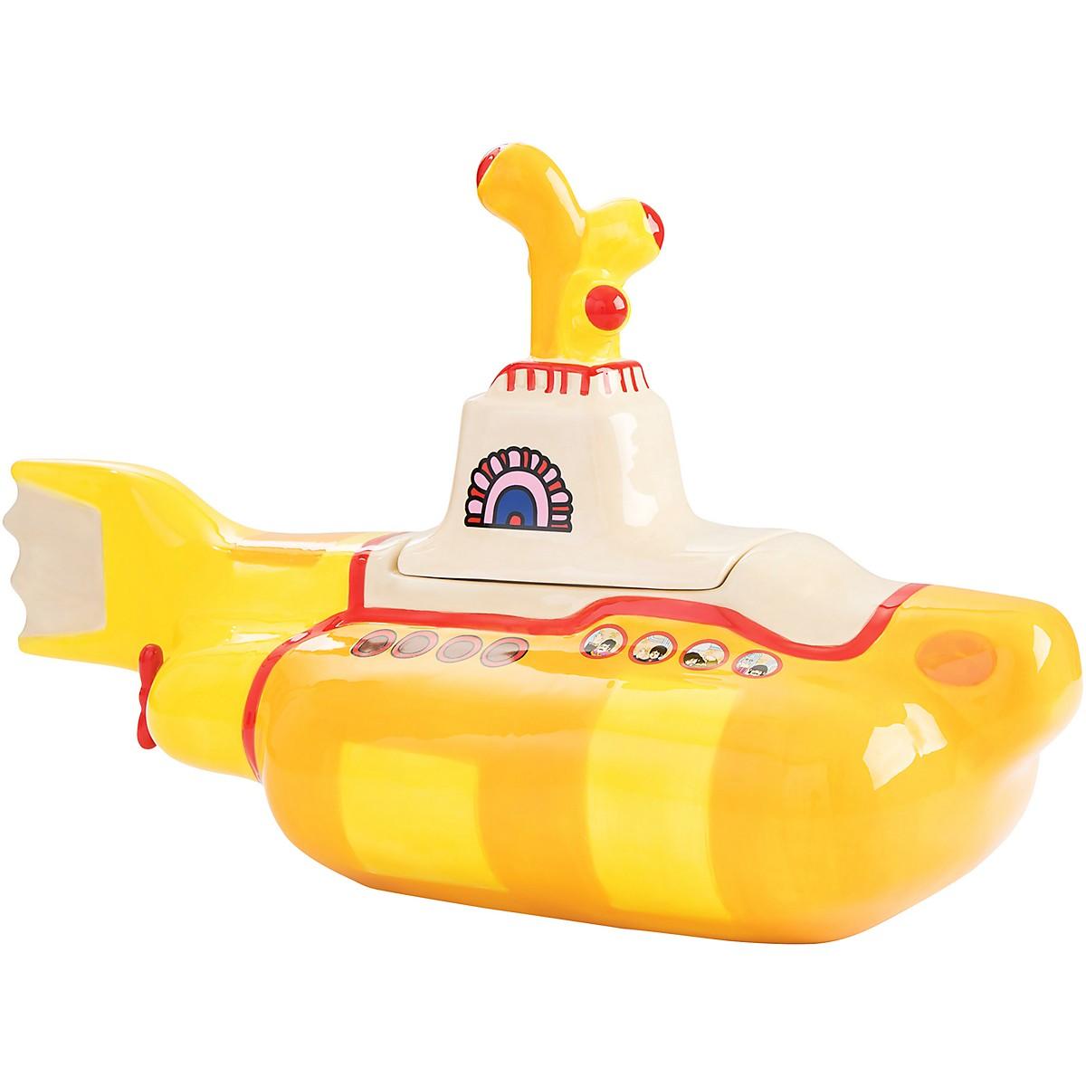 Vandor The Beatles Yellow Submarine Sculpted Cookie Jar