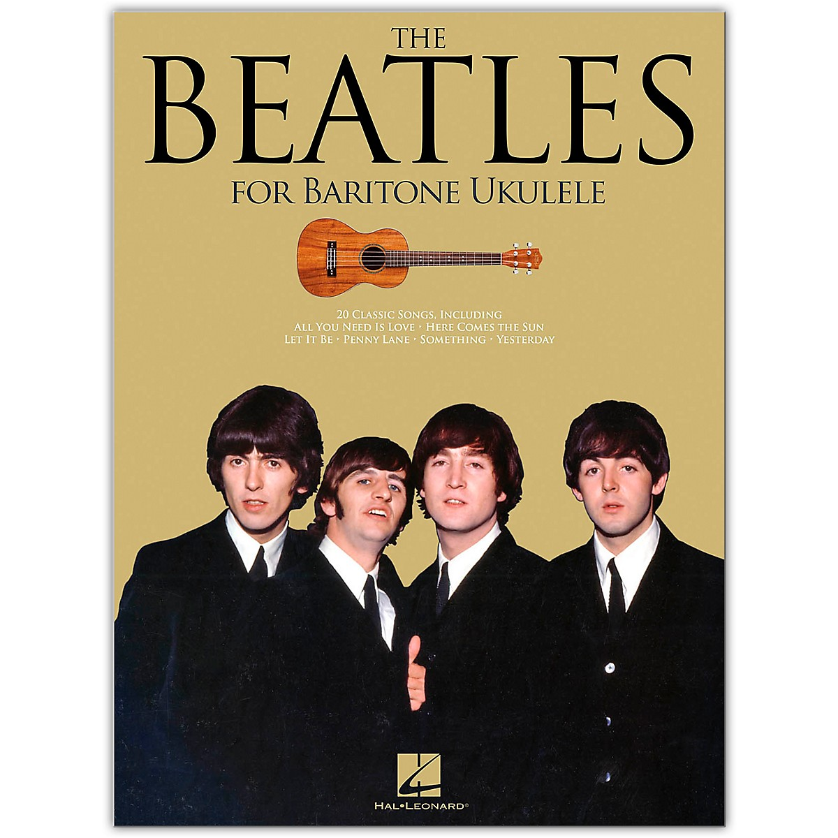 Hal Leonard The Beatles (for Baritone Ukulele)