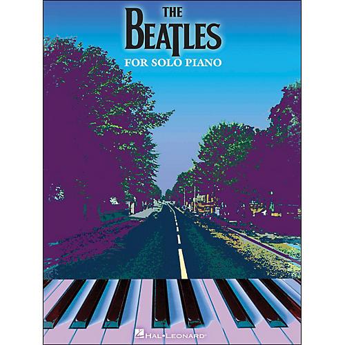 Hal Leonard The Beatles for Piano Solo arranged for piano solo
