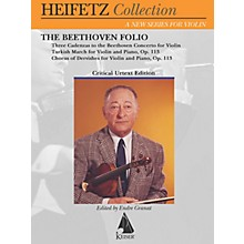 Lauren Keiser Music Publishing The Beethoven Folio (Critical Urtext Edition The Heifetz Collection) LKM Music Series Softcover