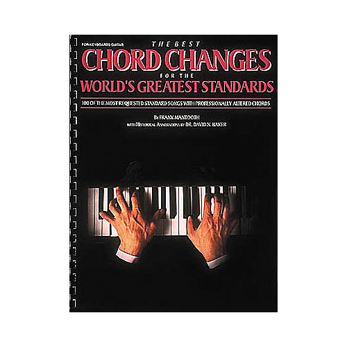 Hal Leonard The Best Chord Changes for the World's Greatest Standards Piano, Vocal, Guitar Songbook
