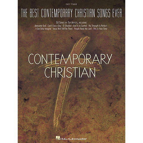 Hal Leonard The Best Contemporary Christian Songs Ever For Easy Piano