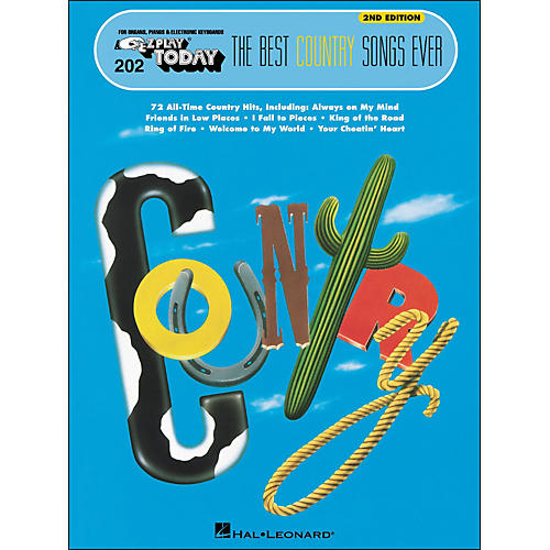 Hal Leonard The Best Country Songs Ever 2nd Edition E-Z Play 202