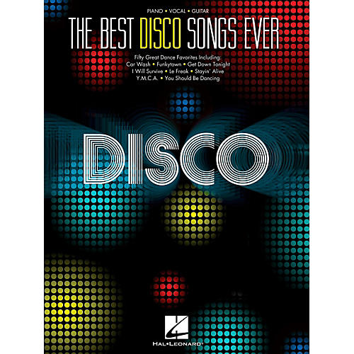 Hal Leonard The Best Disco Songs Ever for Piano/Vocal/Guitar PVG